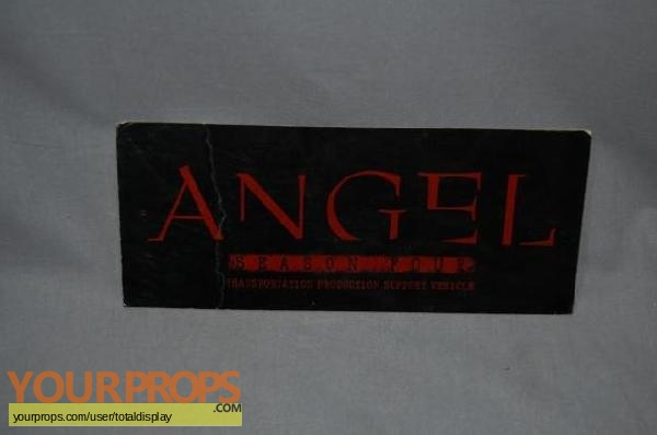 Angel original movie prop