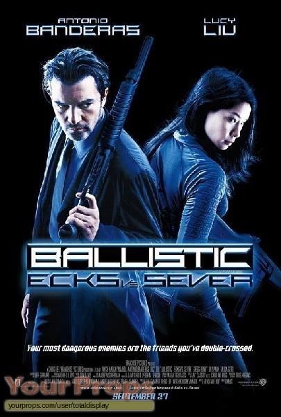 Ballistic  Ecks vs  Sever original movie prop