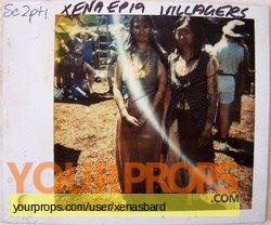 Xena  Warrior Princess original production material