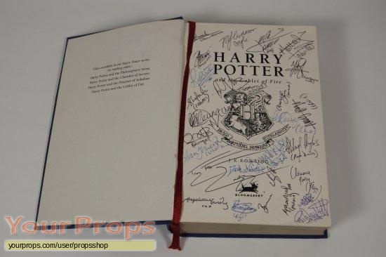 Harry Potter and the Goblet of Fire original production material