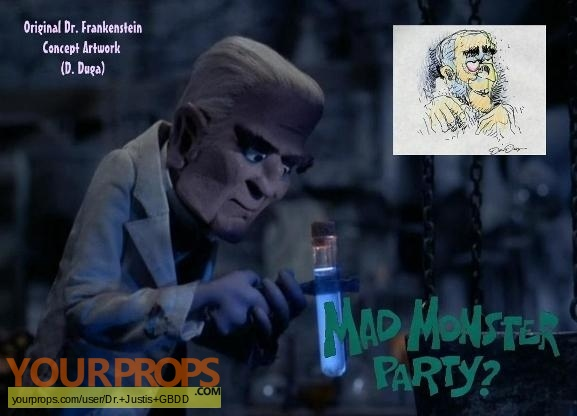 Mad Monster Party original production artwork
