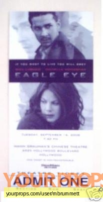Eagle Eye original production material