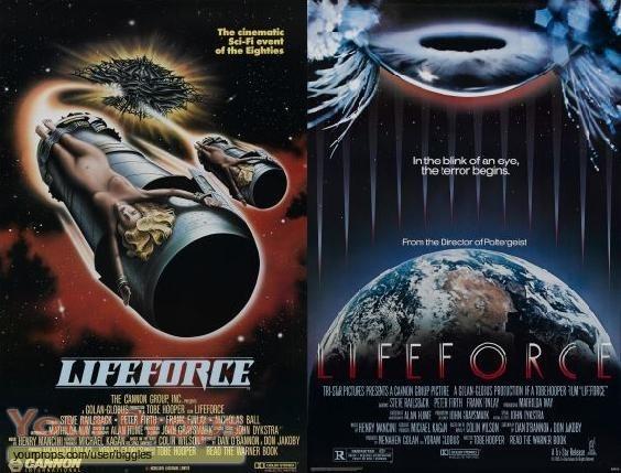 Lifeforce original production material
