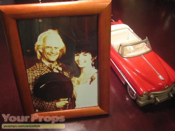 Back To The Future  The Ride original movie prop