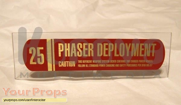 Star Trek  Nemesis original movie prop weapon
