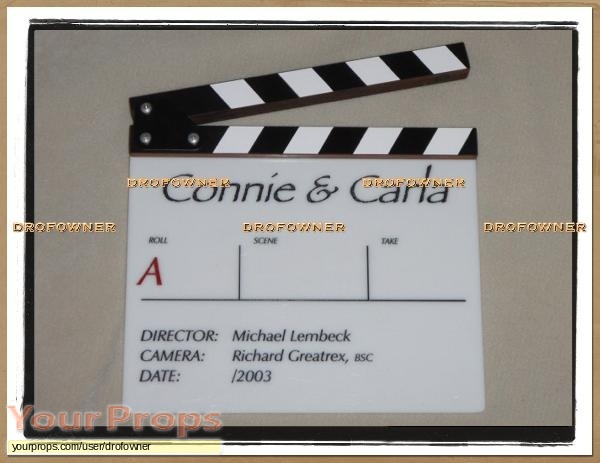 Connie and Carla original production material