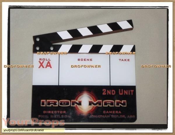 Iron Man original production material