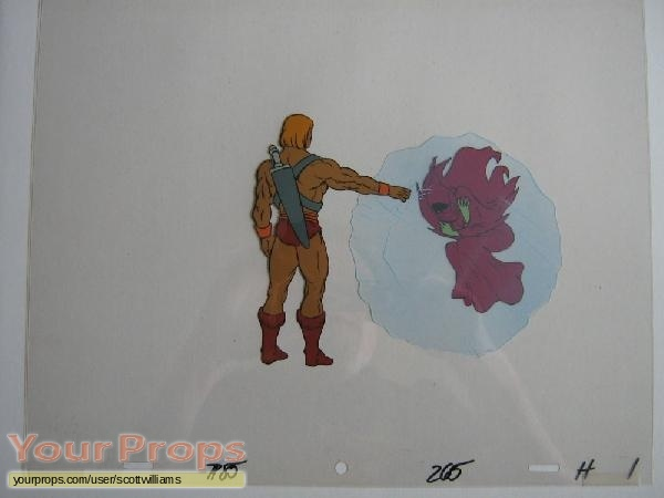 She-Ra  Princess of Power original production material