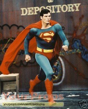 Superman III swatch   fragment movie costume
