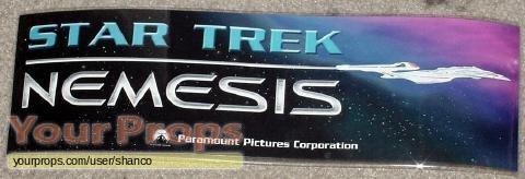 Star Trek  Nemesis original film-crew items