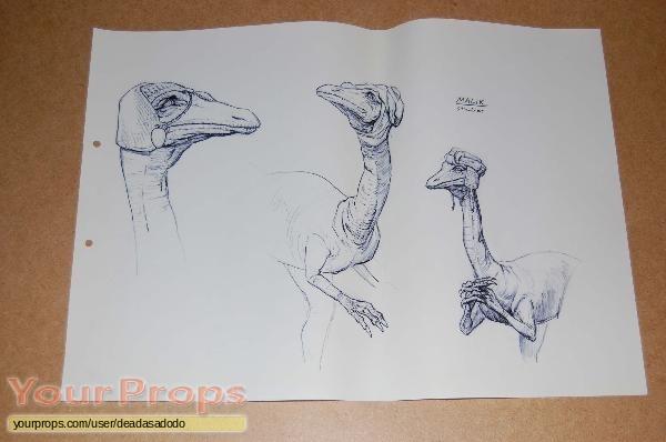 Dinotopia original production material