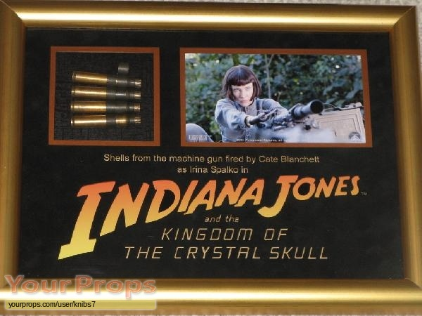 Indiana Jones And The Kingdom Of The Crystal Skull original movie prop