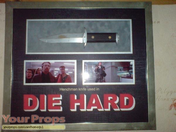 Die Hard original movie prop weapon