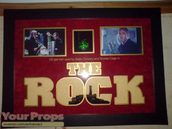 The Rock original movie prop
