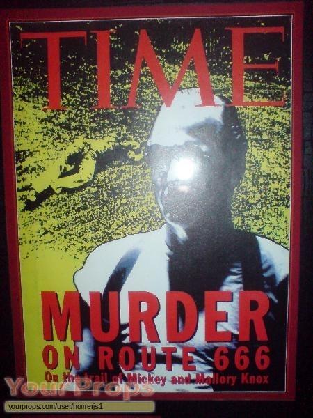 Natural Born Killers original movie prop