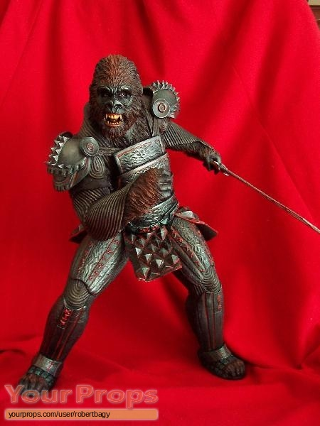 Planet of the Apes scaled scratch-built movie prop