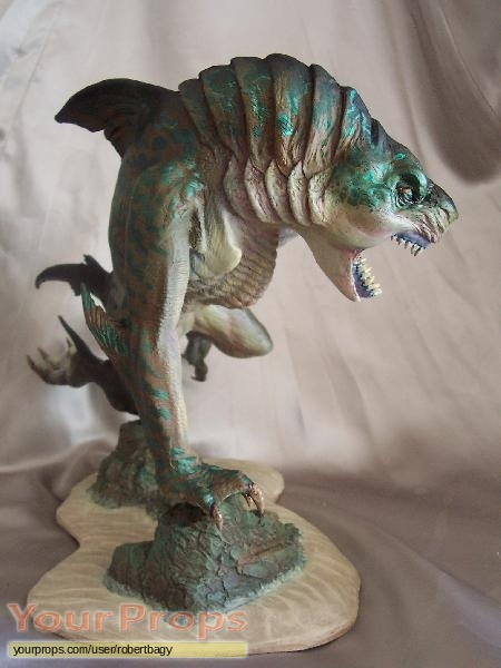 Creature (Peter Benchley s) scaled scratch-built movie prop
