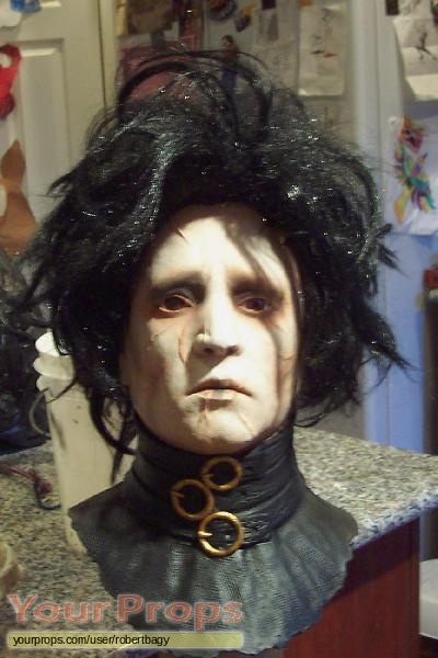 Edward Scissorhands replica movie prop