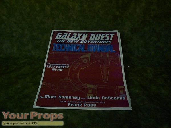 Galaxy Quest replica movie prop