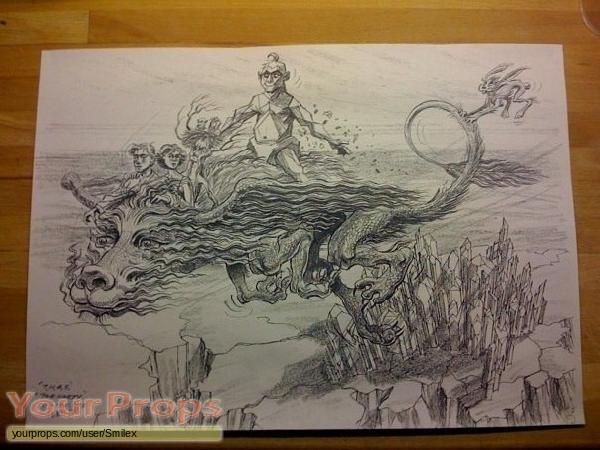 The NeverEnding Story 3 original production artwork