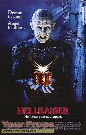 Hellraiser replica movie prop