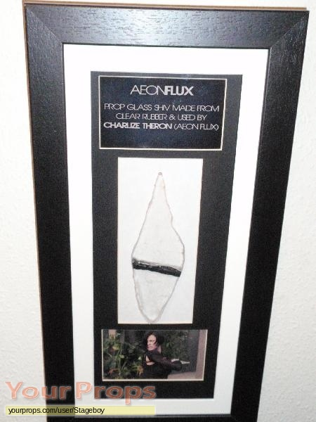 Aeon Flux original movie prop