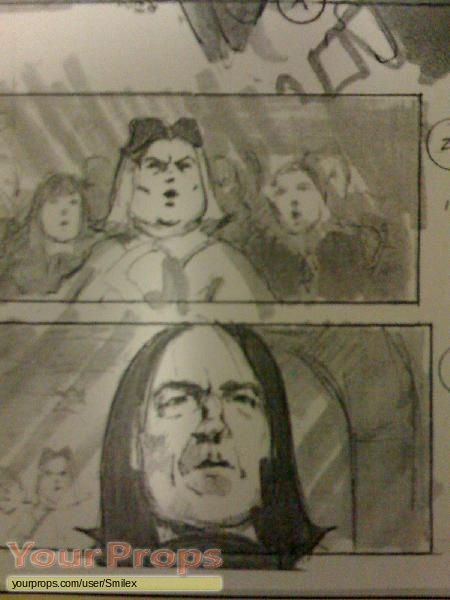 Harry Potter and the Order of the Phoenix original production artwork