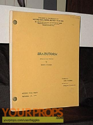 Brainstorm original production material