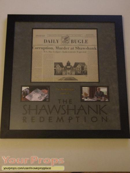 The Shawshank Redemption original movie prop