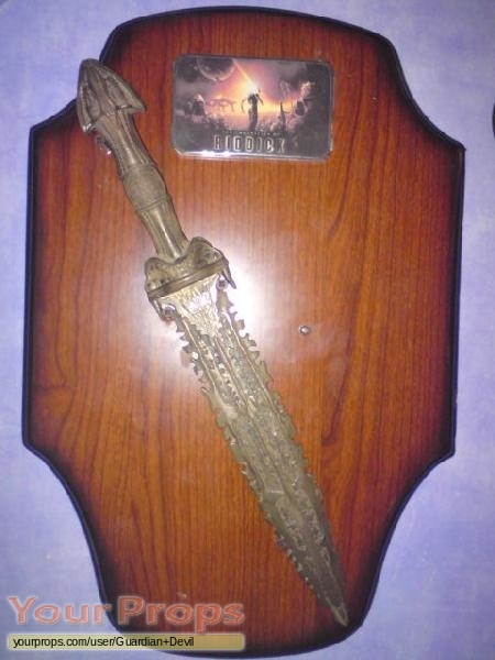 The Chronicles of Riddick replica movie prop weapon
