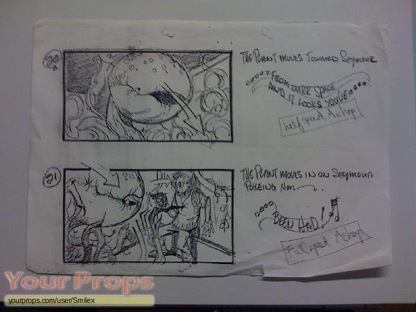 Little Shop of Horrors original production artwork