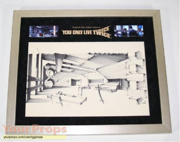 James Bond  You Only Live Twice original movie prop