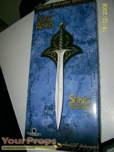 Lord of the Rings Trilogy replica movie prop weapon