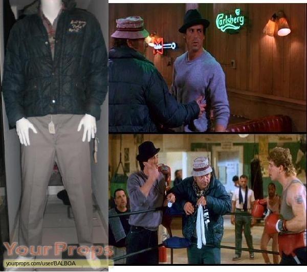 Rocky V original movie costume