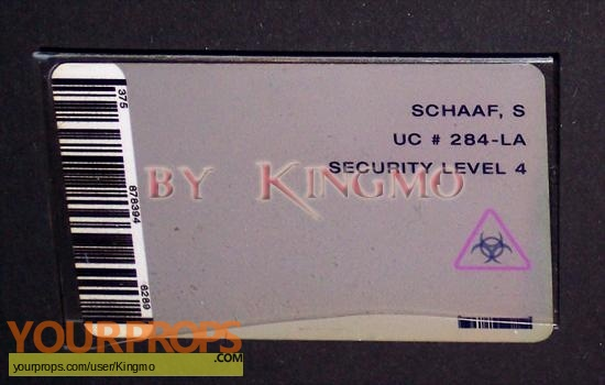 Resident Evil original movie prop