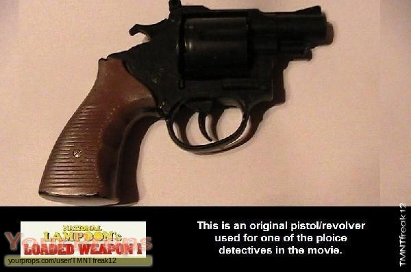 Loaded Weapon original movie prop weapon