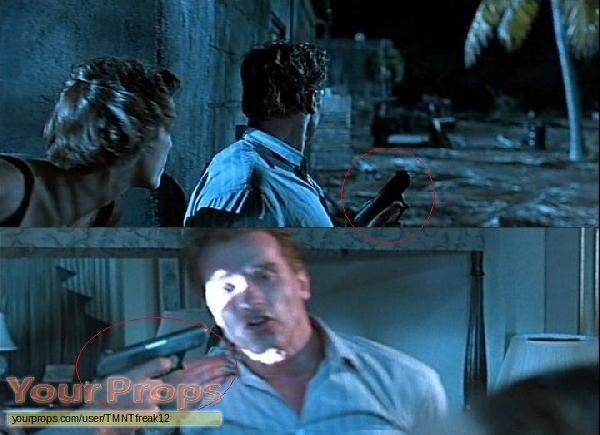 True Lies original movie prop weapon