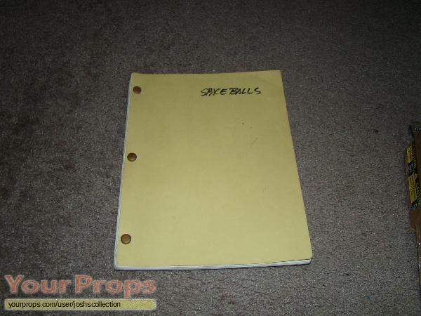 Spaceballs original production material