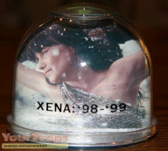 Xena  Warrior Princess original film-crew items
