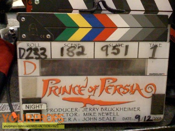 Prince of Persia  The Sands of Time original production material