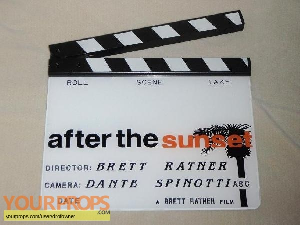 After the Sunset original production material