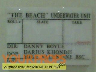 The Beach original movie prop