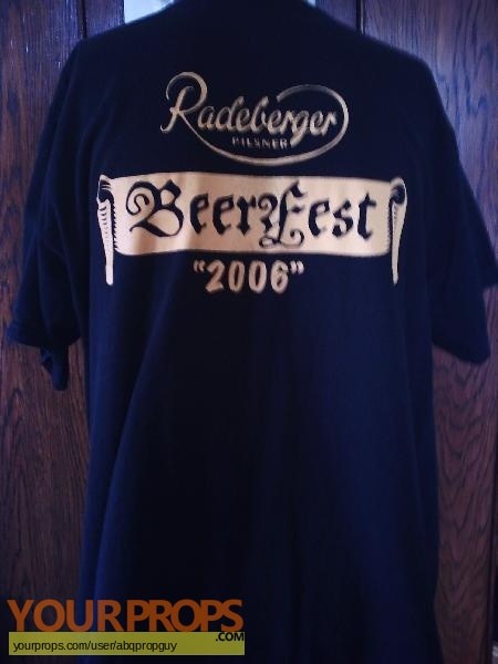 Beerfest original film-crew items