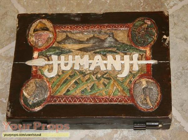 Jumanji Jumanji Game Board original movie prop