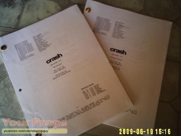 Crash original production material