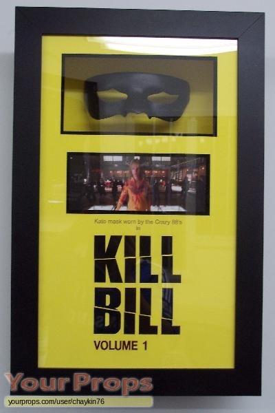 Kill Bill  Vol  1 original movie costume