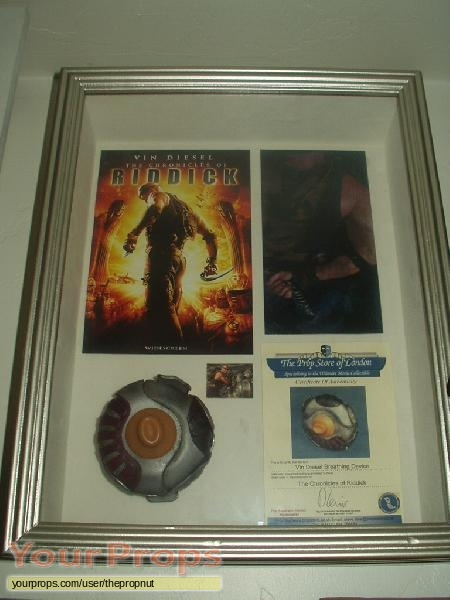 The Chronicles of Riddick original movie prop