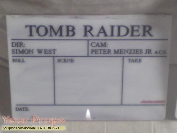 Tomb Raider  Lara Croft  original movie prop