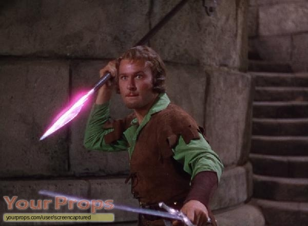 The Adventures of Robin Hood original movie prop weapon