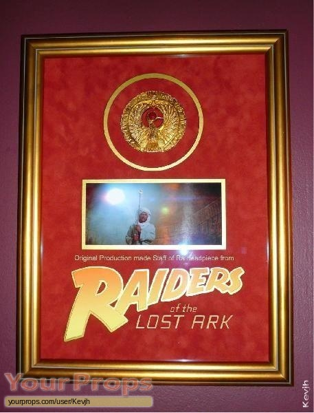 Indiana Jones And The Raiders Of The Lost Ark original production material